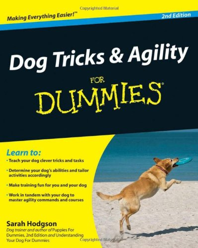dog tricks and agility for dummies hodgson 2010