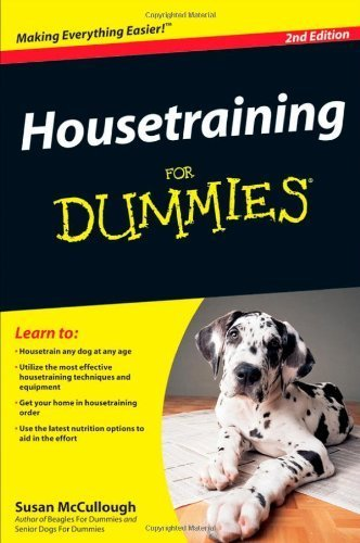 housetraining for dummies mccullough 2009