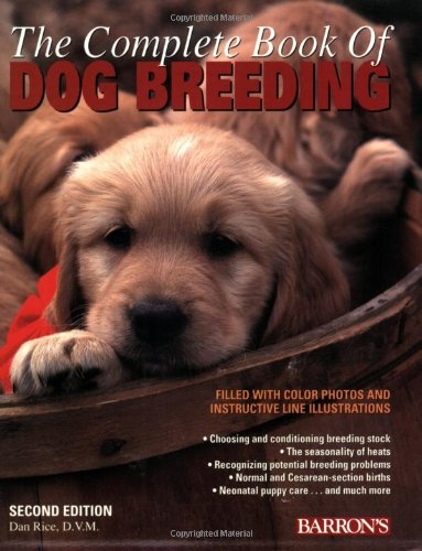 the complete book of dog breeding rice 2008