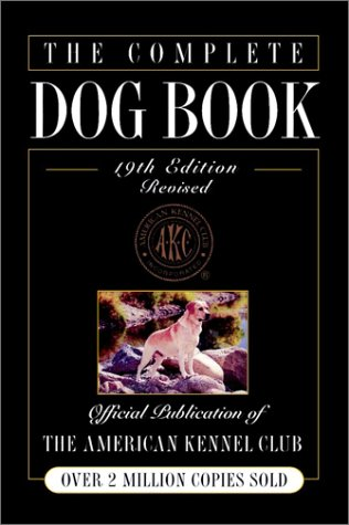 the complete dog book akc staff 1998