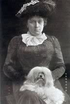 Mrs Stallinbrass with Maltese Queen Stalli